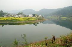 Het landschap van Xinanjiang Stock Fotografie