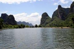 Het landschap van Yangshuo Royalty-vrije Stock Foto's