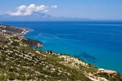 Het landschap van Zakynthos Royalty-vrije Stock Fotografie