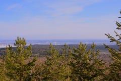 Het landschap vanaf de bovenkant Stock Fotografie
