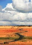 Het landschap in Vietnam Royalty-vrije Stock Foto's