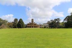 Het landschap in werribeepark, Melbourne, Australië stock foto