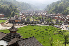 Het landschap in zhaoxin, guizhou, China Royalty-vrije Stock Fotografie