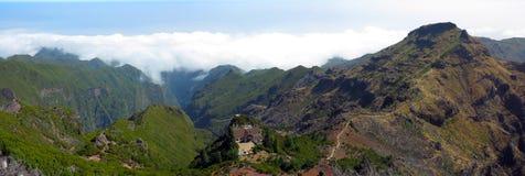 Het landschapsbergen van het panorama Royalty-vrije Stock Foto
