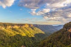 Het Landschapsmening van Nice van Kangoeroevallei, Australië stock foto