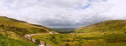Het landschapspanorama van het platteland Stock Foto's