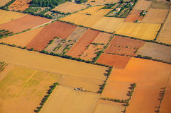Het landschapspatroon van Mallorca Stock Foto's
