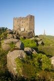 Het lange Basset monument en Carn-het breakasteel Royalty-vrije Stock Fotografie