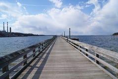 Het lange Dok van het Eiland Royalty-vrije Stock Foto's