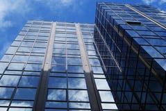 Het lange Financiële Blok van het Bureau Royalty-vrije Stock Foto