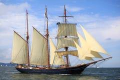 Het lange schip rent 2009 Stock Foto's