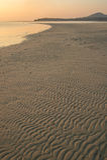 Het lange strand van Thailand Royalty-vrije Stock Foto