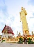 Het Langste bevindende beeld van Boedha in Thailand Royalty-vrije Stock Fotografie