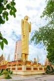 Het Langste bevindende beeld van Boedha in Thailand Royalty-vrije Stock Foto