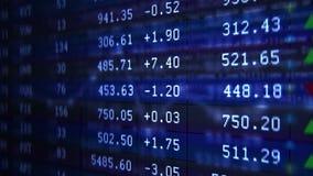 Het langzame scherm van de motiecomputer toont gegevensbestand met aantallen royalty-vrije illustratie