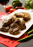 Het lapje vlees assorteert Stock Fotografie