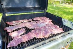 Het Lapje vlees van de flank stock foto's