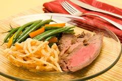 Het lapje vlees van de flank stock foto