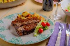 Het Lapje vlees van de kalfsvleesrib Royalty-vrije Stock Foto