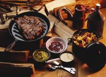 Het lapje vlees van de rib Royalty-vrije Stock Fotografie