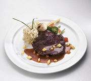 Het lapje vlees van de struisvogel Royalty-vrije Stock Afbeeldingen