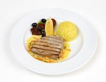 Het lapje vlees van de tonijn Royalty-vrije Stock Foto