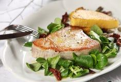 Het lapje vlees van de tonijn stock fotografie