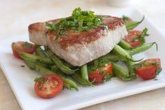 Het lapje vlees van de tonijn Stock Foto