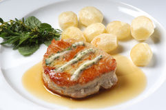 Het lapje vlees van de tonijn Royalty-vrije Stock Afbeeldingen