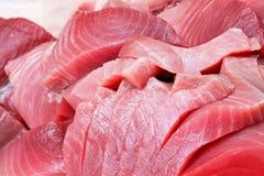 Het lapje vlees van de tonijn Stock Afbeelding