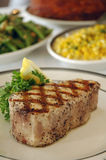 Het lapje vlees van de zalm royalty-vrije stock foto
