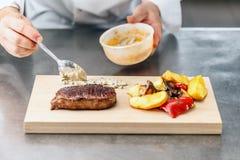 Het lapje vlees van het clubrundvlees Royalty-vrije Stock Afbeelding