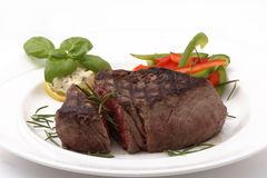 Het Lapje vlees van het Filethaakwerk van het rundvlees Stock Afbeeldingen