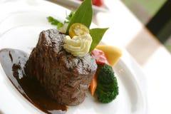 Het Lapje vlees van het haasbiefstuk Stock Foto