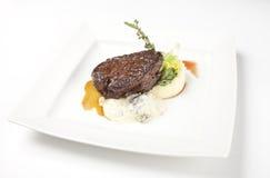 Het lapje vlees van het restaurantrundvlees royalty-vrije stock afbeelding
