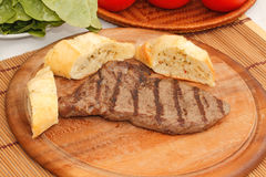 Het lapje vlees van het rundvlees Royalty-vrije Stock Foto