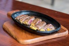 Het lapje vlees van het rundvlees Stock Afbeelding