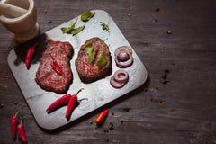 Het lapje vlees van het rundvlees Royalty-vrije Stock Foto's