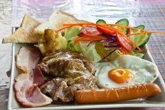 Het lapje vlees van het varkensvlees. Stock Afbeeldingen