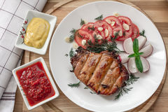 Het Lapje vlees van het varkensvlees Stock Foto's