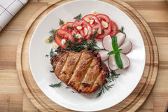 Het Lapje vlees van het varkensvlees Stock Foto