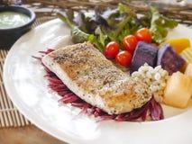 Het lapje vlees van overzeese baarzenvissen Stock Afbeelding