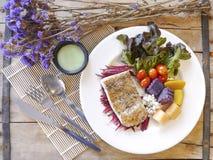 Het lapje vlees van overzeese baarzenvissen Royalty-vrije Stock Fotografie