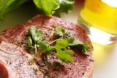 Het lapje vlees van Ribeye Royalty-vrije Stock Foto's