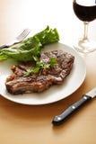 Het lapje vlees van Ribeye Stock Foto's