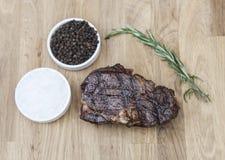 Het lapje vlees van Ribeye Stock Afbeeldingen