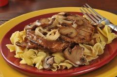 Het lapje vlees van Salisbury stock foto