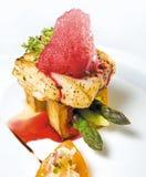 Het lapje vlees van vissen stock foto