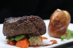 Het lapje vleesgedeelte van het haasbiefstuk Stock Foto