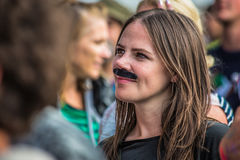 Het Larmer-Boomfestival, Koninklijke Tollard, Wiltshire, het UK Royalty-vrije Stock Fotografie